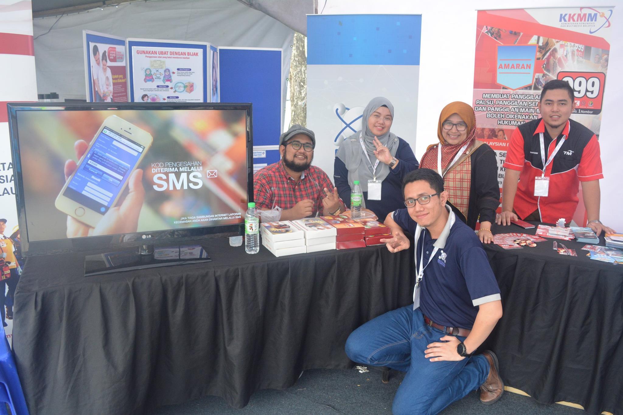 MINDA Exhibition: Hari Malaysia Event 2017