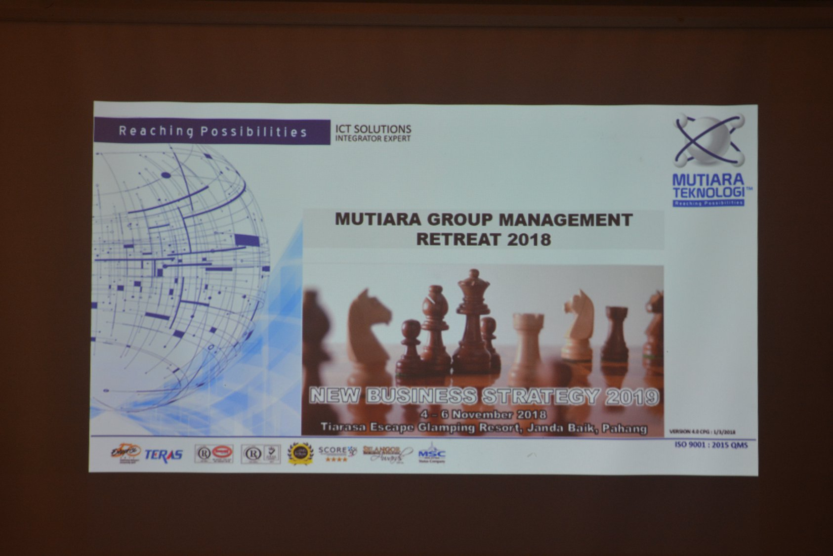2018: Mutiara Group Management Retreat