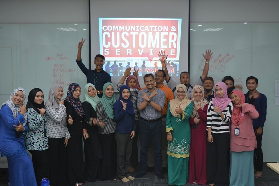 2016: Training – Communication and Customer Service