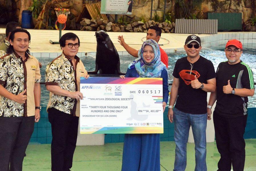 2017: CSR Program – Sponsorship for Cape Fur Seal (Dombi)