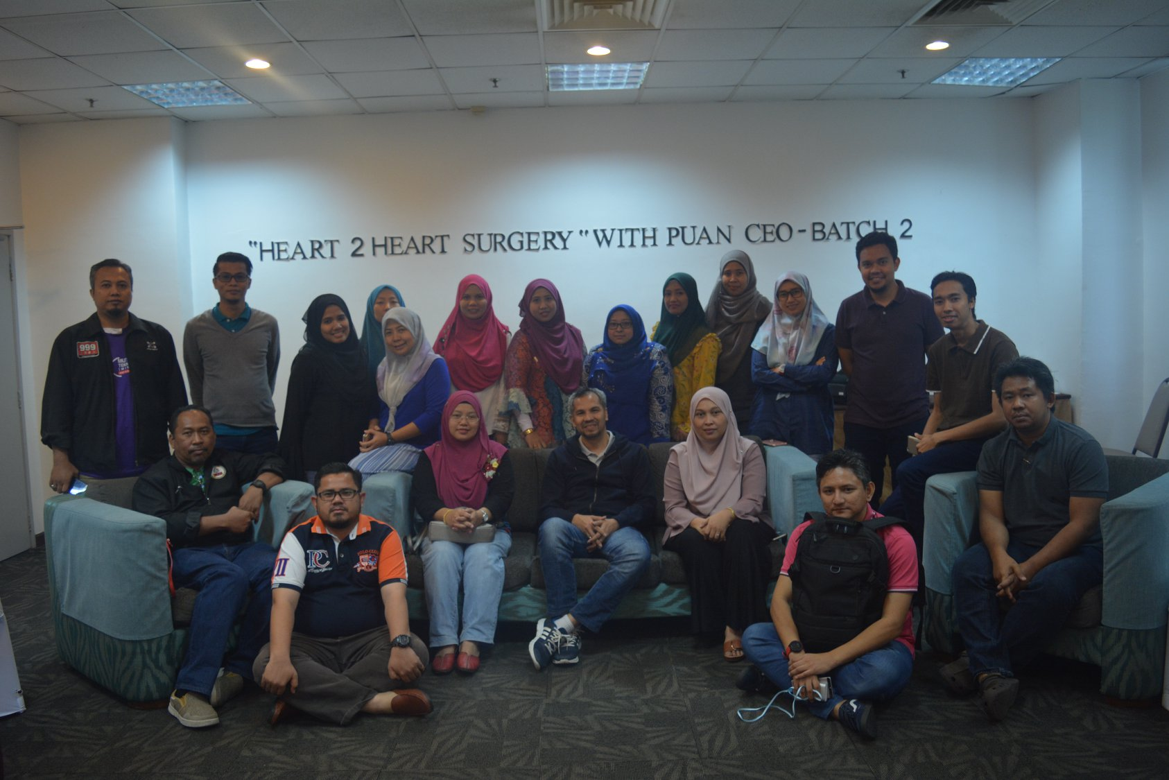 2018: Heart to Heart  Surgery with Puan CEO – 2nd Batch