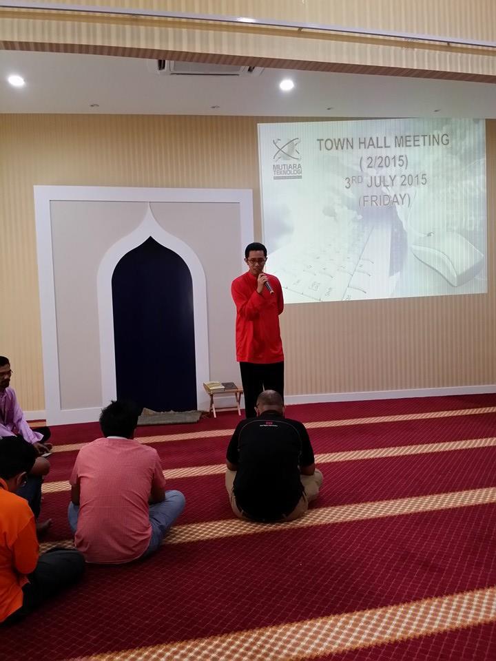 2015: Town Hall Ramadhan